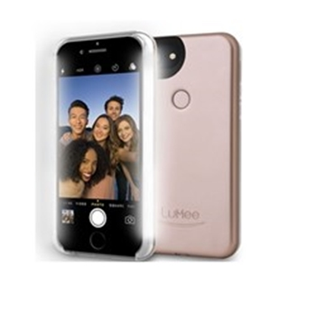 Picture of LuMee two for iPhone 7 Plus - Matte Rose