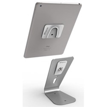 Picture of Maclocks HoverTab Universal Display Tablet Lock Stand - Silver