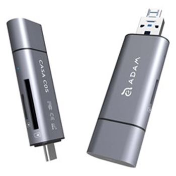 Picture of Adam Elements CASA C05 - USB 3.1 to USB Type C 5-in-1 OTG - Grey