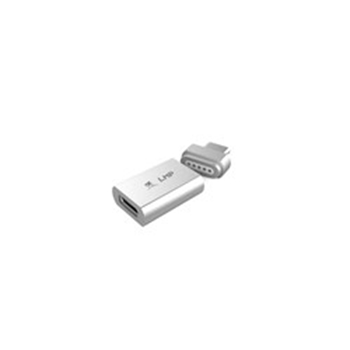 Picture of LMP Magnetic Safety Adapter for USB-C charging cable, 100w - Silver