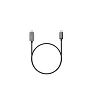 Picture of LMP Magnetic Safety charging cable USB-C to USB-C up to 100W, 1.8 m - Space Gray