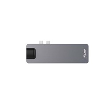 Picture of LMP USB-C 8 Port Compact Dock - Silver