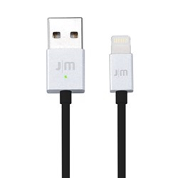 Picture of Just-Mobile AluCable LED USB to Lightning Cable - Silver