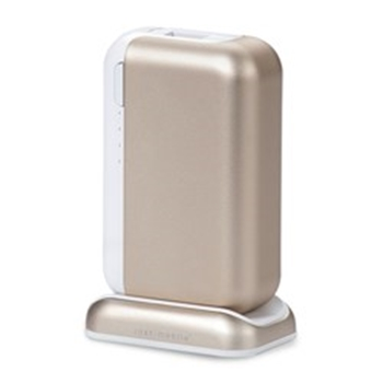 Picture of Just-Mobile Topgum++ USB Power Pack With Charging Dock 6000 mAh - Gold