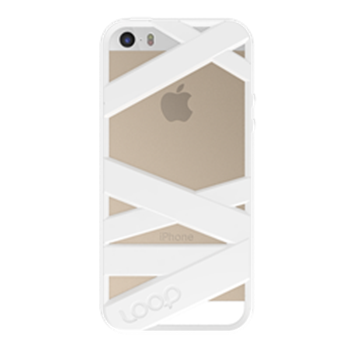Picture of Loop Attachment Mummy iPhone 5/5s - White