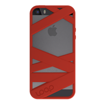 Picture of Loop Attachment Mummy iPhone 5/5s - Red