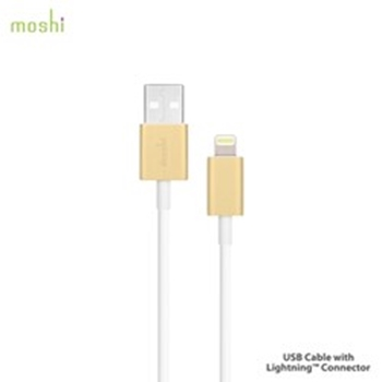 Picture of Moshi USB Cable Lightning Connection - Gold