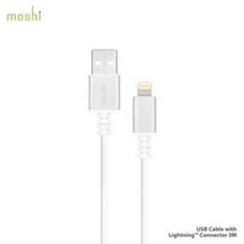 Picture of Moshi USB Cable Lightning Connection 3M - White