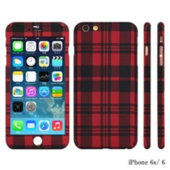 Picture of ZENDO NanoSkin iPhone 6/6S - Checkered Red