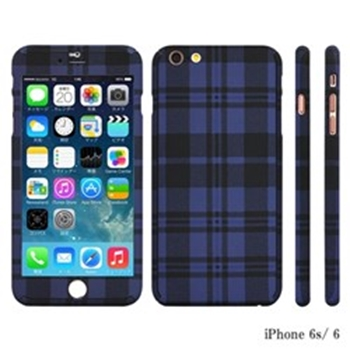 Picture of ZENDO NanoSkin iPhone 6/6S - Checkered Blue