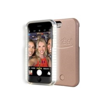 Picture of LuMee lighted cell phone case for iPhone 6S - Rose Gold