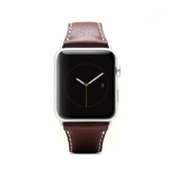Picture of SLG Design D6 Italian Minerva Box Leather Strap for Apple Watch 38mm - Brown