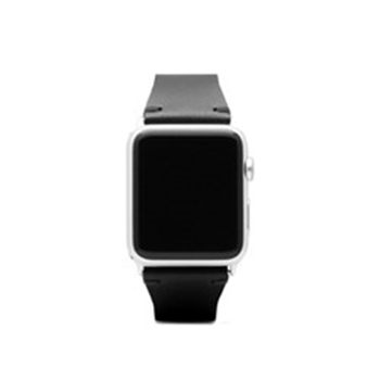 Picture of SLG Design D7 Italian Buttero Leather Strap for Apple Watch 42mm - Black