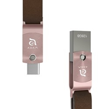Picture of Adam Elements ROMA USB-C to USB 3 OTG 128GB - Rose Gold